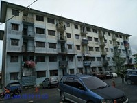 Flat For Auction at Taman Orchidwood, Kuching