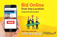Property for Auction at Apartment Tanjung Puteri Resort