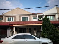 Terrace House For Auction at Taman Lahat Permai, Lahat
