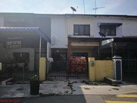 Terrace House For Auction at Taman Pekan Baru, Parit Buntar