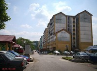 Apartment For Auction at Enggang Apartment, BK6