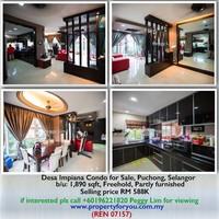 Condo For Sale at Desa Impiana, Puchong