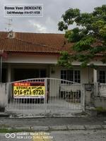 Terrace House For Sale at Bandar Baru Sri Klebang, Ipoh