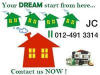 Terrace House For Rent at Taman Jaya, Kapar