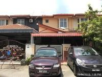 Terrace House For Auction at Taman Suria Pendamar, Port Klang
