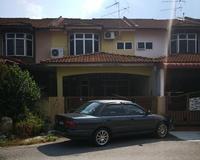 Terrace House For Auction at Teluk Intan, Perak