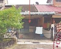 Terrace House For Auction at Taman Marisa, Taiping