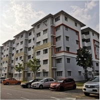 Apartment For Auction at Pangsapuri Seroja, Section U13