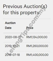 Semi D For Auction at Clover @ Garden Residence, Cyberjaya