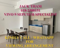 Condo For Rent at VIVO RESIDENCES @ 9 Seputeh, Old Klang Road