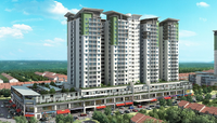 Apartment For Rent at Pearl Avenue, Kajang