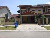 Terrace House For Auction at Cahaya SPK, Shah Alam