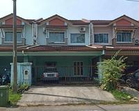 Terrace House For Auction at Samariang Aman, Kuching