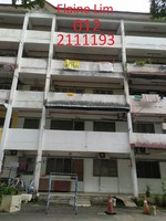 Flat For Sale at Pangsapuri Mawar, Taman Intan Baiduri