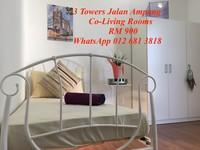 Apartment Duplex Room for Rent at 3 Towers, Ampang Hilir
