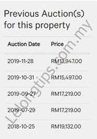 Shop For Auction at Plaza Melaka Raya, Taman Melaka Raya