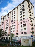 Flat For Auction at Anggerik Apartment, Serdang Lama