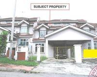 Terrace House For Auction at Taman Selayang Permata, Batu Caves