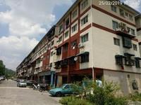 Apartment For Auction at Pangsapuri Seri Pulai, Taman Balakong Jaya