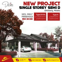 New Launch Property at Klebang