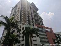 Apartment For Auction at Pertama Residency, Cheras