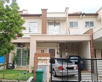 Terrace House For Auction at Saujana Impian, Kajang