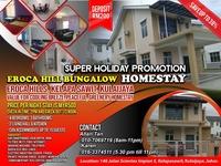 Bungalow House For Rent at Taman Scientex Kulai, Kulai