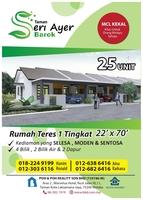 Property for Sale at Taman Seri Ayer Barok