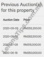 Apartment For Auction at Eclipse Residence, Cyberjaya