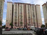Apartment For Auction at Taman Tasik Biru, Rawang