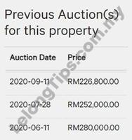 Apartment For Auction at Desa Medura, Bayan Lepas