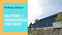 Property for Rent at Taman Perindustrian Puchong Utama