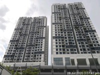 Serviced Residence For Auction at Lexa Residence @ The Quartz WM, Wangsa Maju