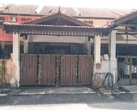 Terrace House For Auction at Binjai, Chukai