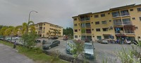 Property for Auction at Apartment Perepat Permai