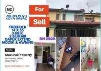 Terrace House For Sale at Taman Kota Masai, Pasir Gudang