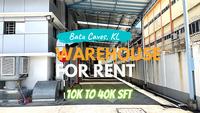 Property for Rent at Kawasan industrial Batu Caves