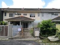 Terrace House For Auction at Taman Keruing, Rasa