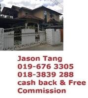 Bungalow House For Auction at Kampung Tanjung Chat, Kota Bharu