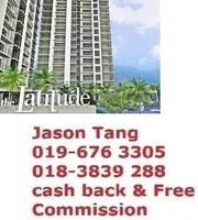 Apartment For Auction at The Latitude, Tanjung Tokong
